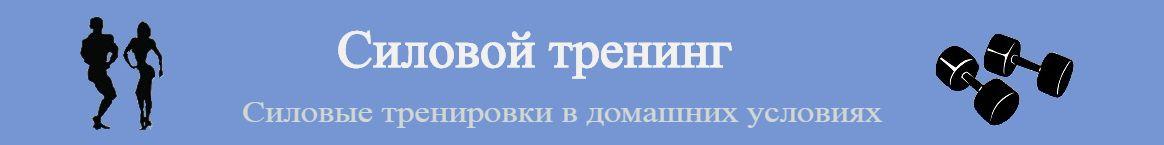 sila-trening.ru — Организация силовых тренировок в домашних условиях